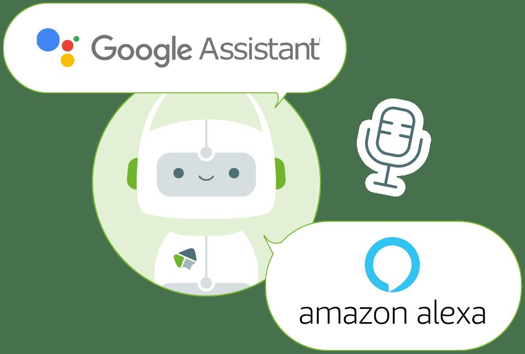 Virtual Assistants für Alexa und Google Assistent