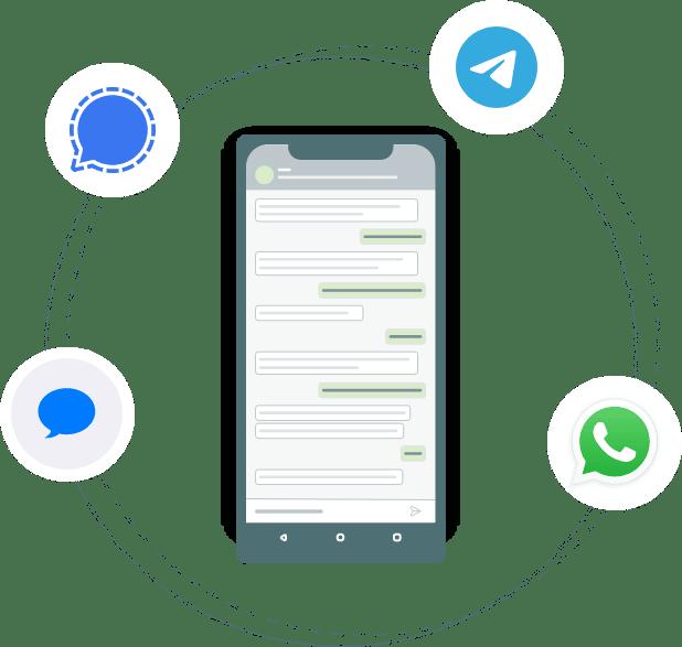 Chatbot für Apple Business Chat, WhatsApp usw.