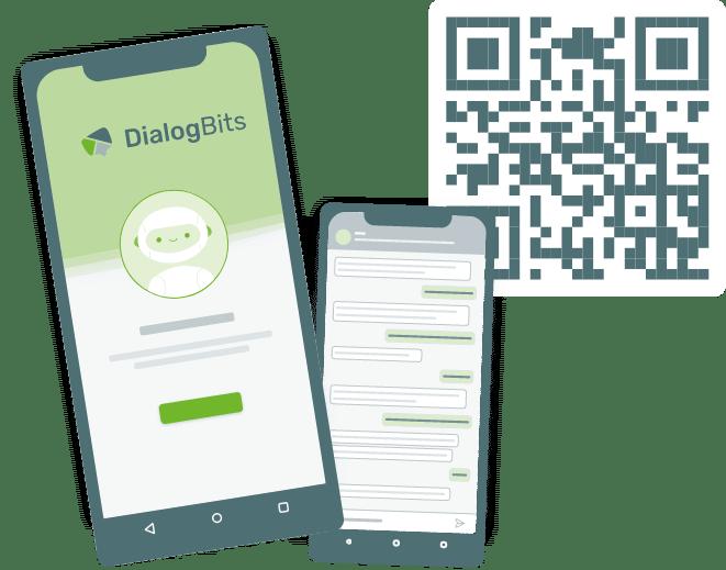 Chatbots über QR-Code aufrufen